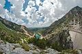 Oymapinar Вид на плотину 02.jpg