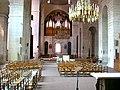 Périgueux Cathédrale Saint-Front, Grand Orgue et lustre.jpg