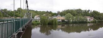 Bonneuil-Matours - The bridge in Bonneuil-Matours