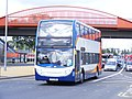 PX12 DMV Stagecoach 10021 Paralympic games vehicle, Leyton (7839390690).jpg