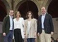 Pablo Casado junto a Isabel Díaz Ayuso y Pio Garcia Escudero en la presentación de los candidatos de la zona este de Madrid en la localidad madrileña de Alcalá de Henares. (46548414454).jpg