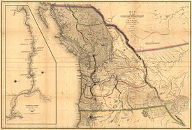 Pacific Northwest Wikipedia - Northwestern us map