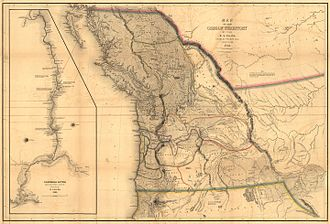 Charles Wilkes - Pacific Northwest: 1841 Map of the Oregon Territory from Narrative of the United States Exploring Expedition