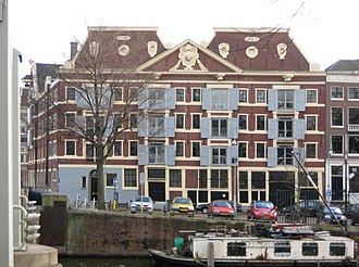 Dutch West India Company - Warehouse of the WIC in Amsterdam