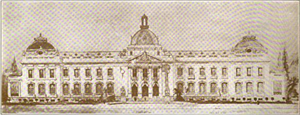 National Palace (Haiti) - Georges H. Baussan's 1912 design for the National Palace of Haiti.