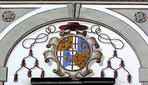 Mark Sittich von Hohenems Altemps - Coat of arms of Cardinal Mark Sittich von Hohenems.