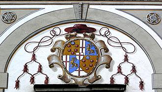 Mark Sittich von Hohenems Altemps - Coat of arms of Cardinal Mark Sittich von Hohenems.