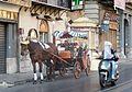 Palermo, Via Vittorio Emmanuele, carrozza.jpg