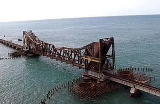 E. Sreedharan - Pamban Bridge