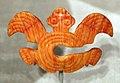 Panama, coclé, ornamento nasale, in cocnhiglia spondylus, 800-1200 dc ca. 02.jpg