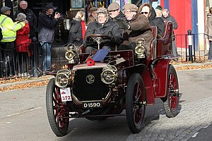 W & G Du Cros - Image: Panhard Levassor tonneau 1902 (10761360924)