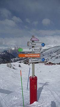 Panneau piste - Valloire.JPG