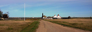 Battleford - Image: Pano Fort Battleford