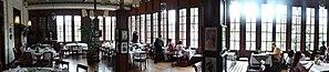 Café Batavia - Image: Panorama of Interior of Cafe Batavia 1805 Construction Jakarta Indonesia