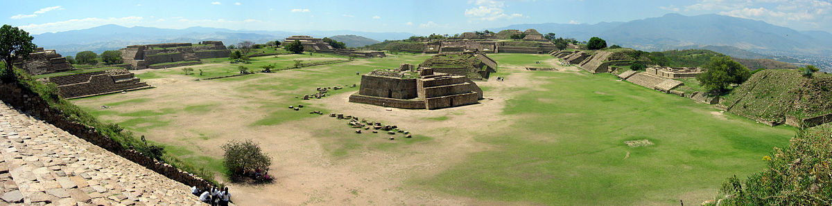 Panorama of Monte Alban from the South Platform.jpg