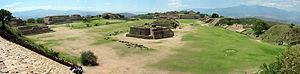 State formation - Image: Panorama of Monte Alban from the South Platform