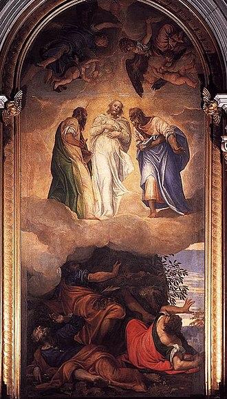 "Francesco Pisani - Veronese, ""Transfiguration"""