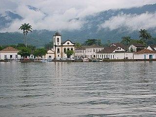Paraty Place in Southeast, Brazil