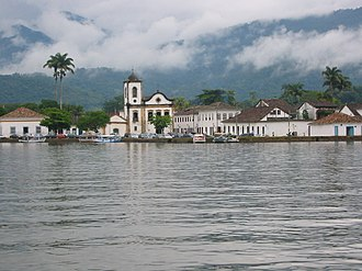 Paraty - Paraty from the bay