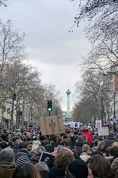 Paris Rally, 11 January 2015 - Boulevard Beaumarchais - 02.jpg
