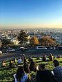 Paris vue de la Butte de Montmartre - 1er novembre 2015 002.jpg