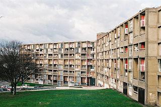 Park Hill, Sheffield council housing estate in Sheffield