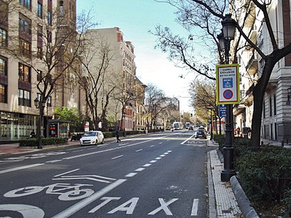 How to get to Paseo De Eduardo Dato with public transit - About the place