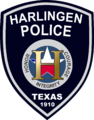 Patch of the Harlingen Police Department.png