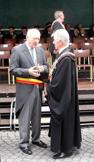 Morning dress - Formal wear by the Lord Mayor of Bruges, in Catholic procession and ceremonial