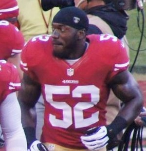 Patrick Willis - Willis with the San Francisco 49ers in 2012