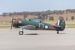 Paul Bennet Airshows (VH-WWY) CAC Wirraway taxiing at Wagga Wagga Airport.jpg