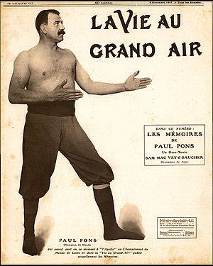Paul Pons - Paul Pons en 1907