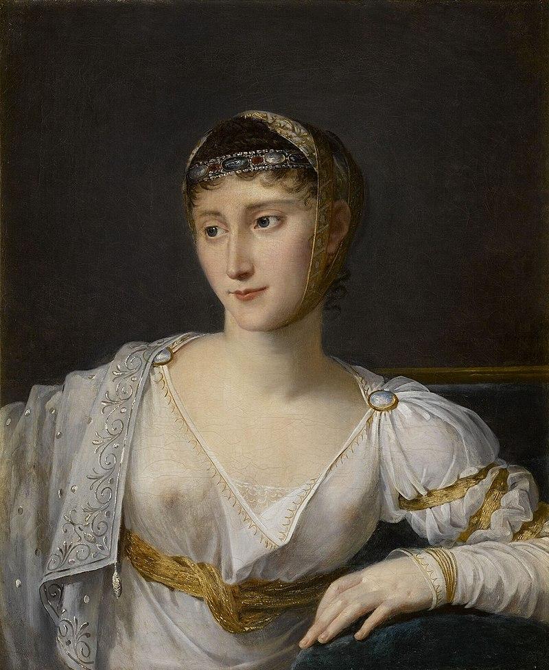 Paolina Bonaparte (Cuadro de Robert Lefèvre)