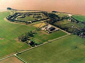 Fort Paull - Aerial view