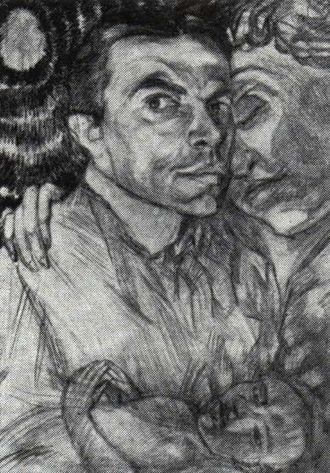 Pavel Kuznetsov - Pavel kuznetsov, Self-portrait, 1906