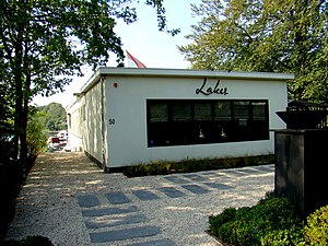Lakes (restaurant) - Image: Paviljoen Wildschut straatzijde Vreelandseweg 50 Hilversum