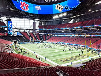 Super Bowl LIII - Mercedes-Benz Stadium, host venue of Super Bowl LIII