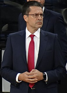 Spanish basketball coach