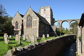 St Thomas à Becket Church, Pensford church in Pensford, UK
