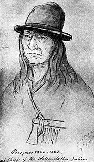 Yellow Bird (Walla Walla leader) 19th century Walla Walla chief from Oregon