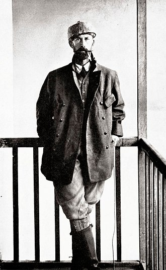 The Lost City of Z (book) - Percy Fawcett in 1911.