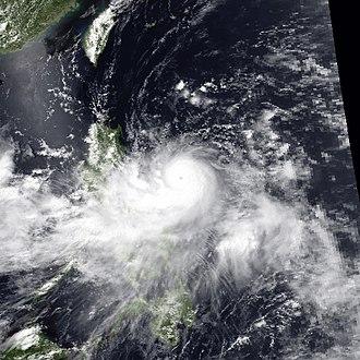 1990 Pacific typhoon season - Image: Percy jun 26 1990 0549Z