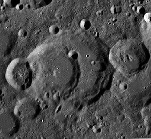 Perrine (crater) - Image: Perrine Crater