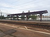 Fil:Perrongtak vid Flens tågstation.jpg