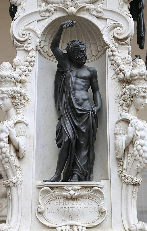 Perseus, Benvenuto Cellini, Loggia dei Lanzi Florenz-06