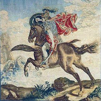 Francis Cleyn - Perseus and Andromeda (1635–1645) by Francis Cleyn