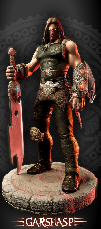 Garshasp: The Monster Slayer - Promotional art showing the Main Character