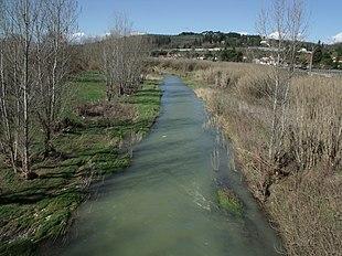 Il torrente Pesa a Ginestra Fiorentina
