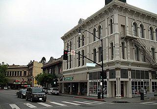 Petaluma Historic Commercial District United States historic place