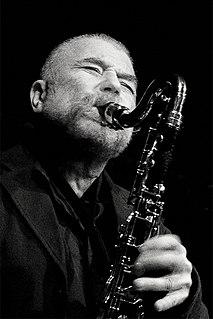 Peter Brötzmann German saxophonist